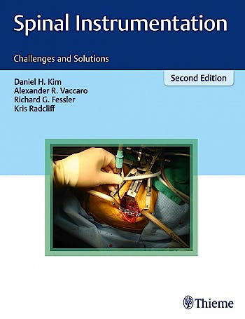 Portada del libro 9781604068955 Spinal Instrumentation. Challenges and Solutions
