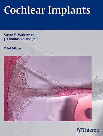 Portada del libro 9781604069037 Cochlear Implants