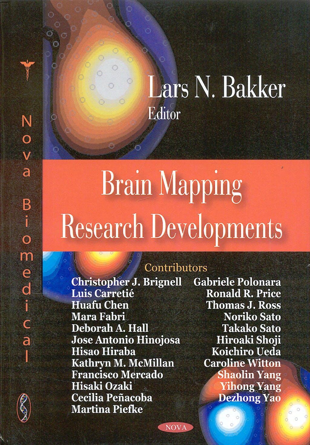 Portada del libro 9781604560077 Brain Mapping Research Developments