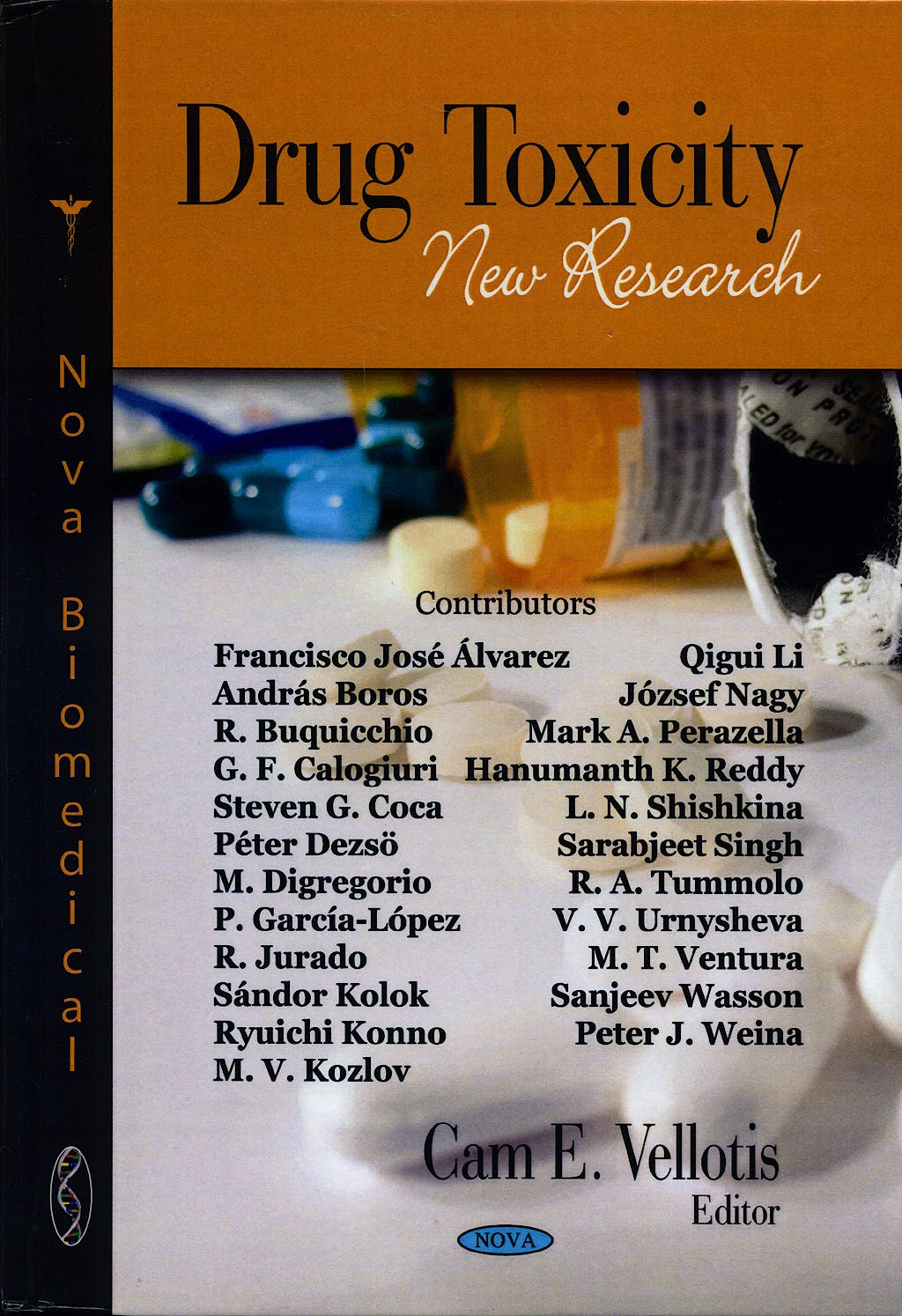 Portada del libro 9781604563207 Drug Toxicity. New Research