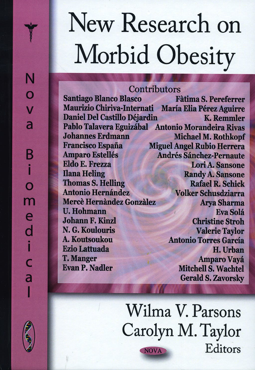 Portada del libro 9781604564402 New Research on Morbid Obesity