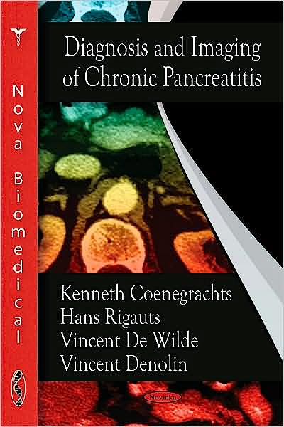 Portada del libro 9781604566918 Diagnosis and Imaging of Chronic Pancreatitis