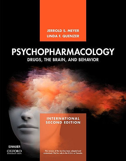 Portada del libro 9781605357423 Psychopharmacology. Drugs, the Brain, and Behavior (International Edition)