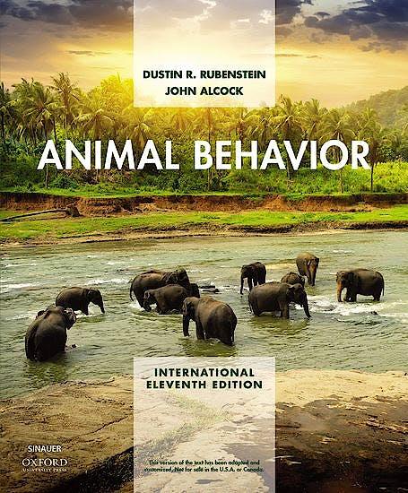 Portada del libro 9781605358949 Animal Behavior (International Edition)