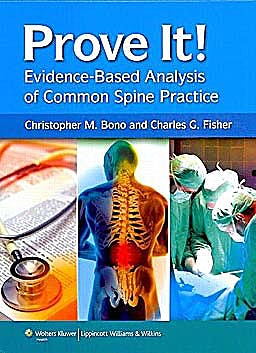 Portada del libro 9781605470276 Prove It! Evidence-Based Analysis of Common Spine Practice