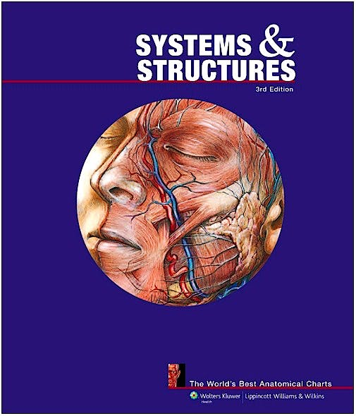 Portada del libro 9781605471044 Systems and Structures: The World's Best Anatomical Charts (Fold-out Book)