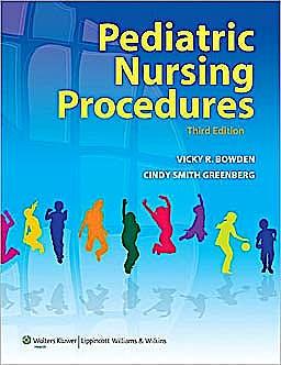 Portada del libro 9781605472096 Pediatric Nursing Procedures