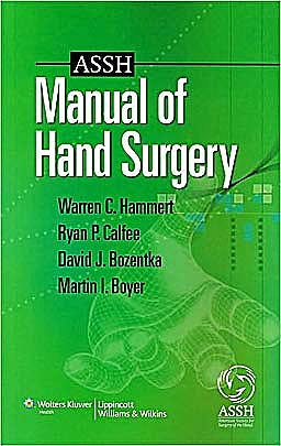Portada del libro 9781605472126 ASSH Manual of Hand Surgery