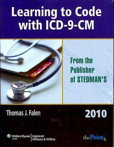 Portada del libro 9781605473185 Learning to Code with Icd-9-Cm 2010