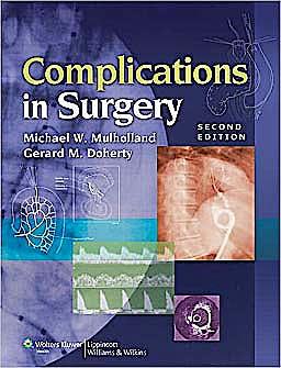 Portada del libro 9781605475301 Complications in Surgery