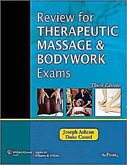 Portada del libro 9781605477121 Review for Therapeutic Massage and Bodywork Exams