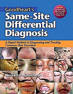 Portada del libro 9781605477466 Goodheart's Same-Site Differential Diagnosis. a Rapid Method of Diagnosing Common Skin Disorders + Online Access