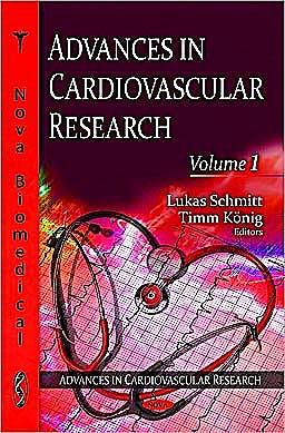 Portada del libro 9781607417200 Advances in Cardiovascular Research, Volume 1