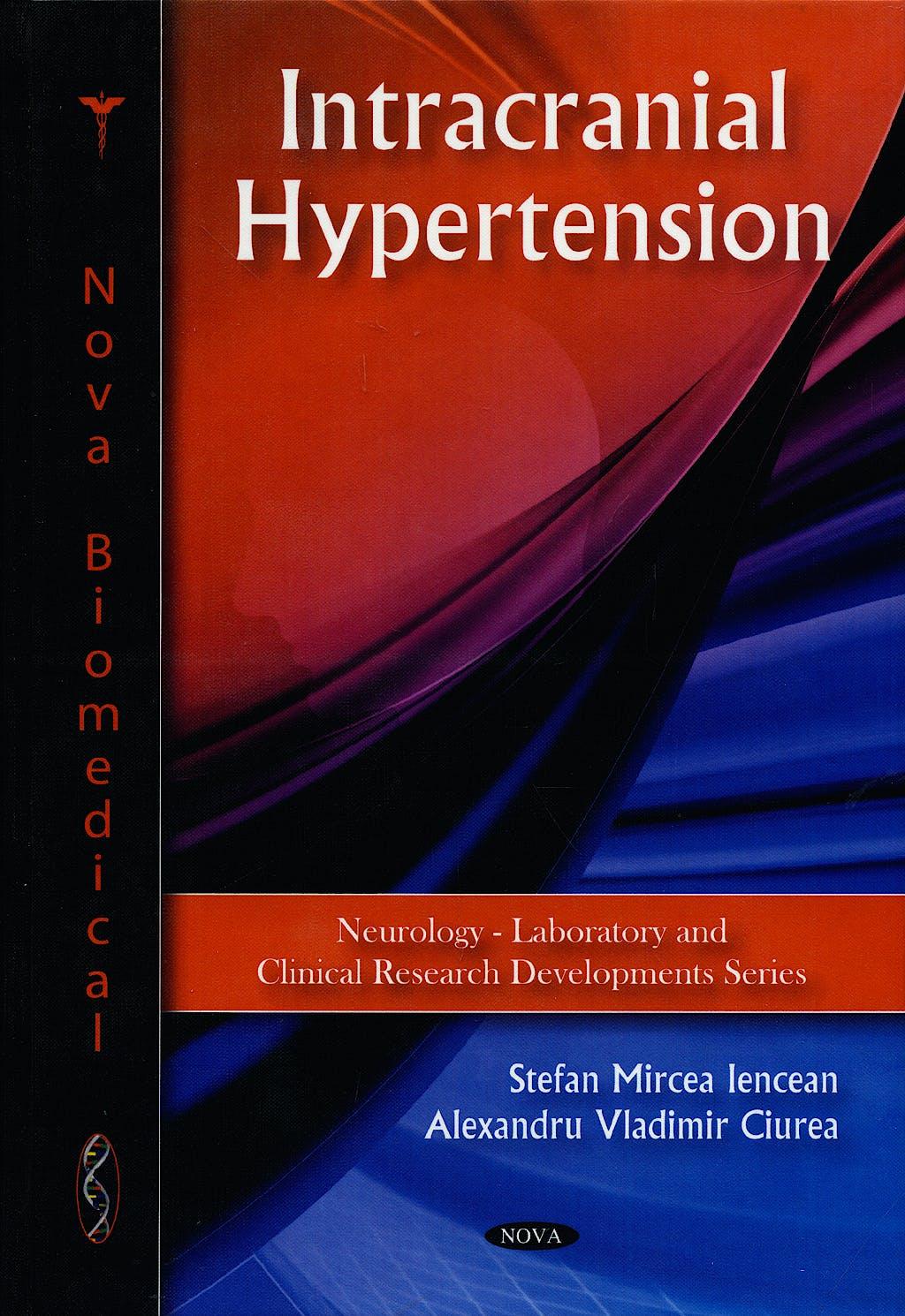 Portada del libro 9781607418627 Intracranial Hypertension