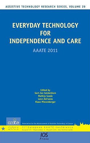 Portada del libro 9781607508137 Everyday Technology for Independence and Care