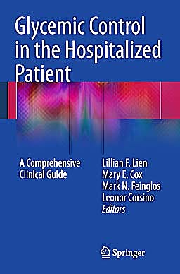 Portada del libro 9781607610052 Glycemic Control in the Hospitalized Patient. A Comprehensive Clinical Guide
