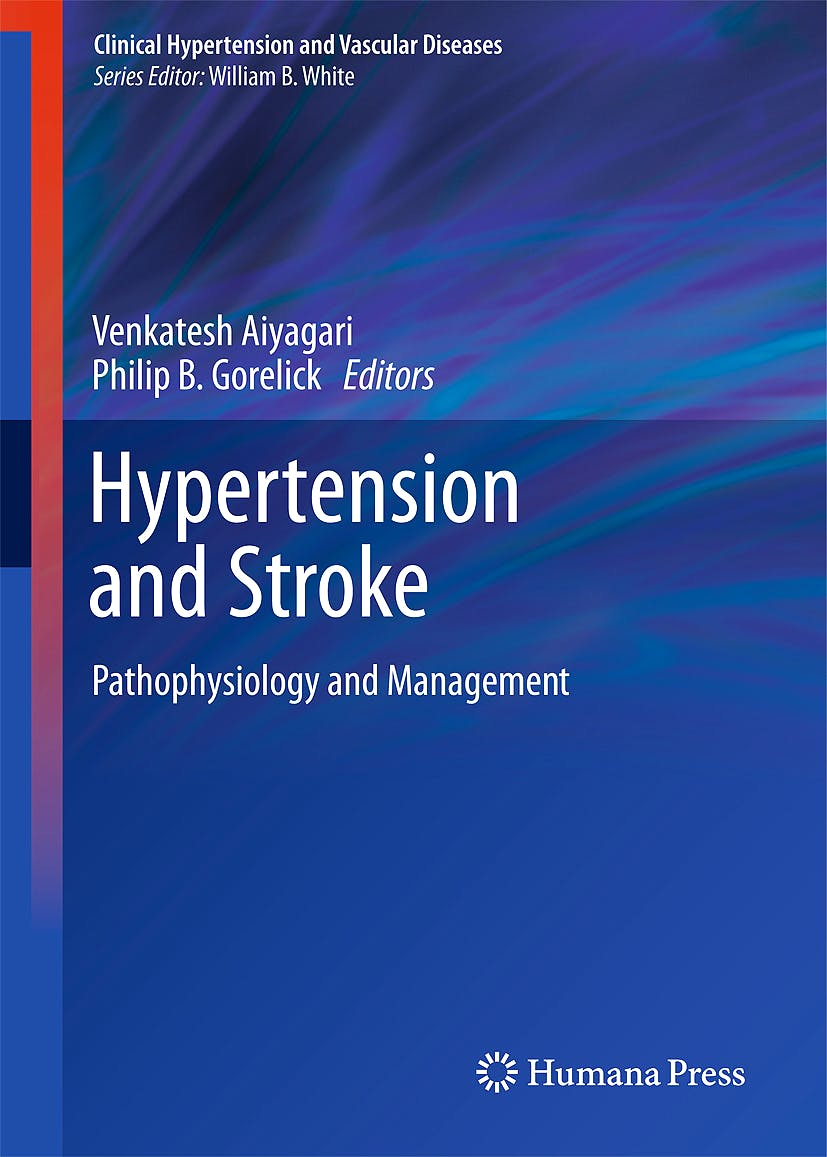 Portada del libro 9781607610090 Hypertension and Stroke. Pathophysiology and Treatment