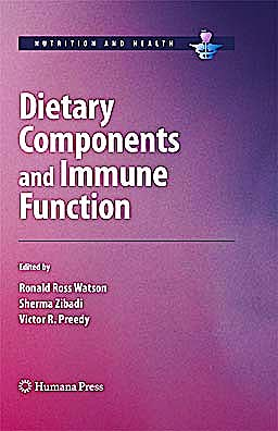 Portada del libro 9781607610601 Dietary Components and Immune Function (Nutrition and Health)