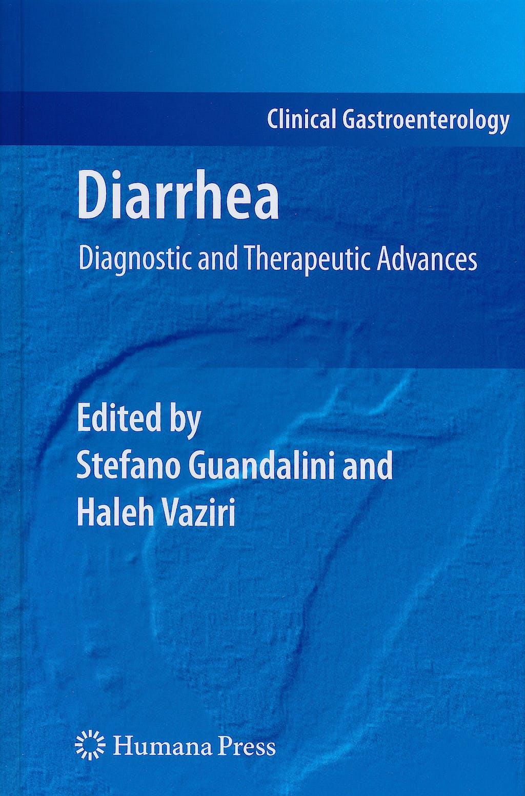 Portada del libro 9781607611820 Diarrhea. Diagnostic and Therapeutic Advances (Clinical Gastroenterology)