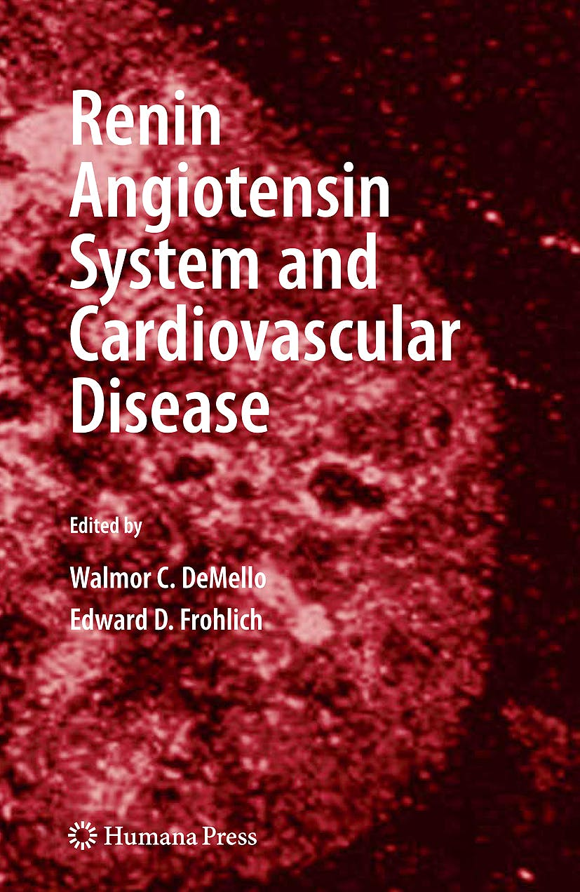 Portada del libro 9781607611851 Renin Angiotensin System and Cardiovascular Disease