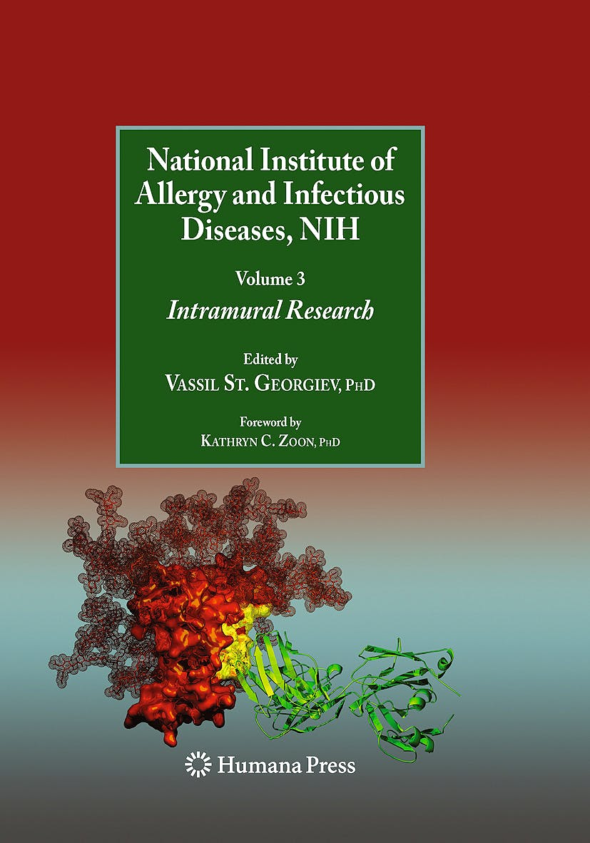 Portada del libro 9781607615118 National Institute of Allergy and Infectious Diseases, Nih. Vol. 3: Intramural Research