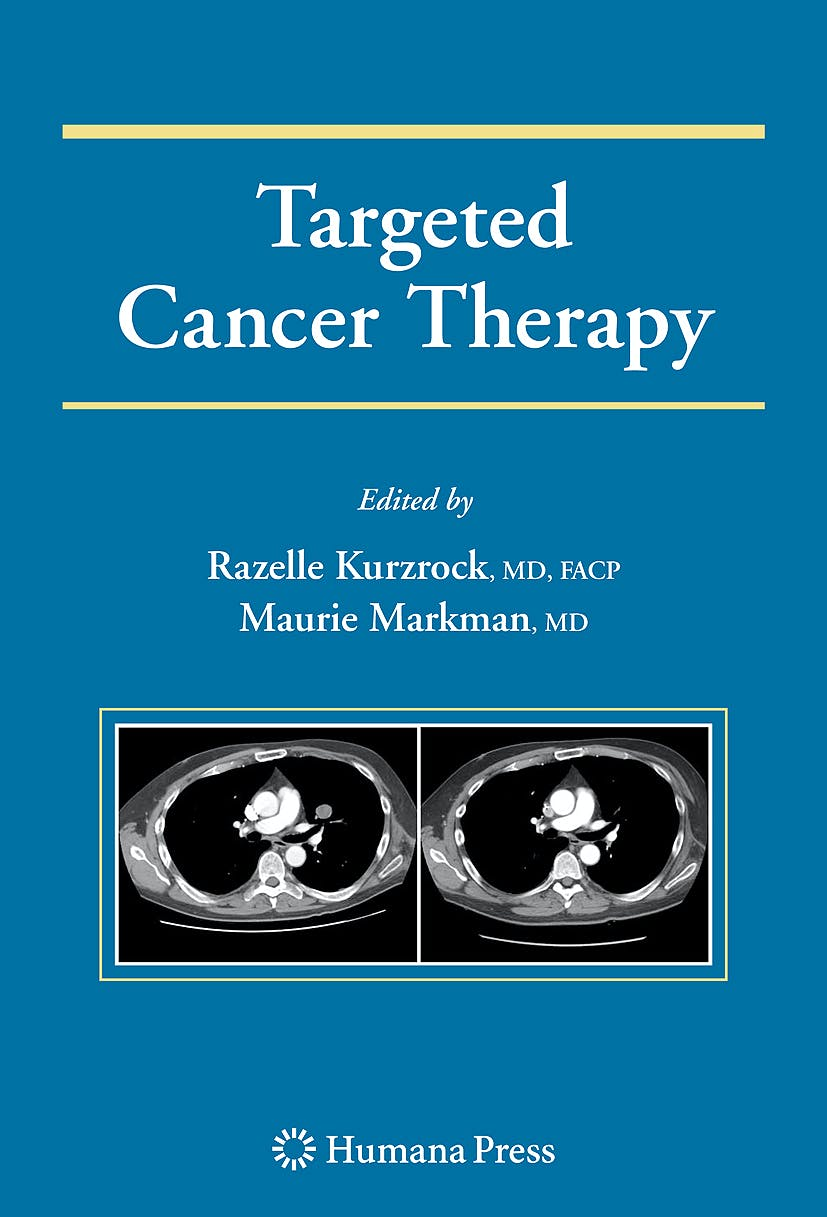 Portada del libro 9781607615989 Targeted Cancer Therapy
