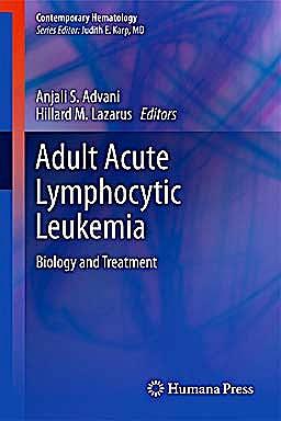 Portada del libro 9781607617068 Adult Acute Lymphocytic Leukemia. Biology and Treatment
