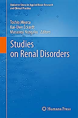 Portada del libro 9781607618560 Studies on Renal Disorders (Oxidative Stress in Applied Basic Research and Clinical Practice)