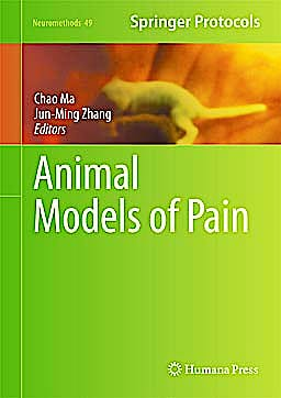 Portada del libro 9781607618799 Animal Models of Pain (Neuromethods, Vol. 49)