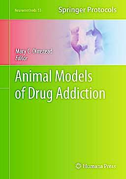 Portada del libro 9781607619338 Animal Models of Drug Addiction (Neuromethods, Vol. 53)