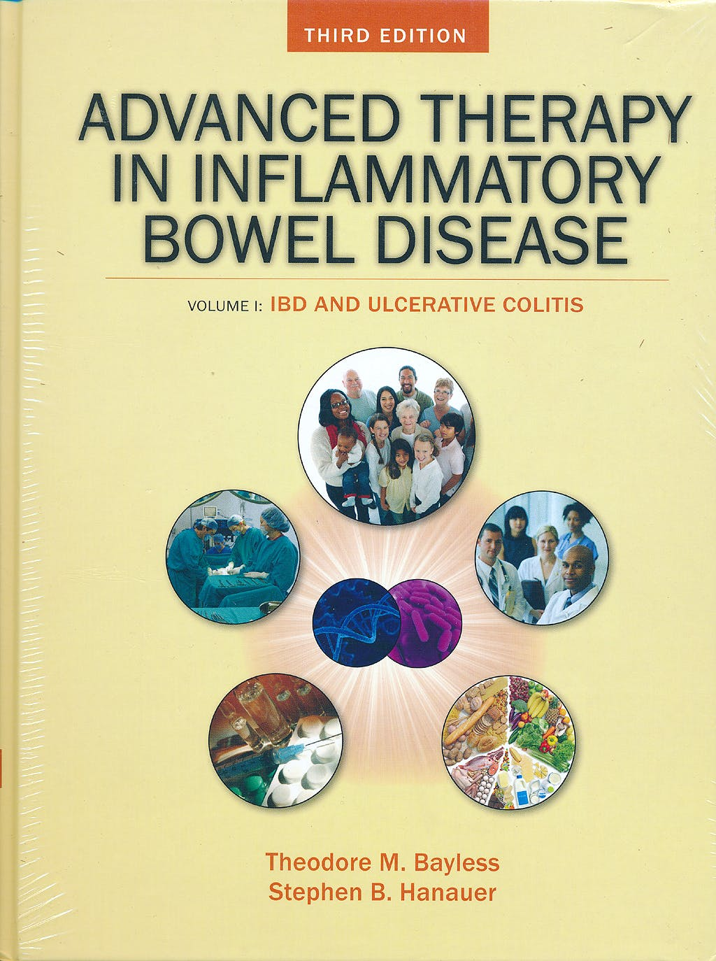 Portada del libro 9781607950349 Advanced Therapy of Inflammatory Bowel Disease, Vol. 1: Ibd and Ulcerative Colitis