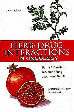 Portada del libro 9781607950417 Herb-Drug Interactions in Oncology