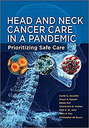 Portada del libro 9781607953067 Head and Neck Cancer Care in a Pandemic Prioritizing Safe Care