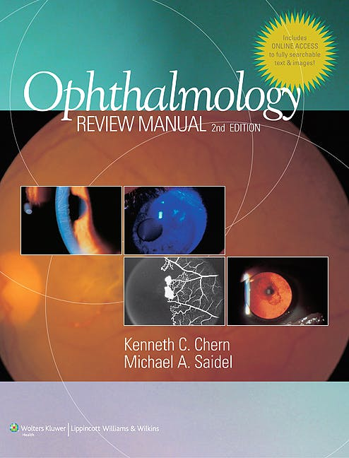 Portada del libro 9781608310074 Ophthalmology Review Manual