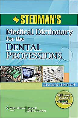 Portada del libro 9781608311460 Stedman's Medical Dictionary for the Dental Professions