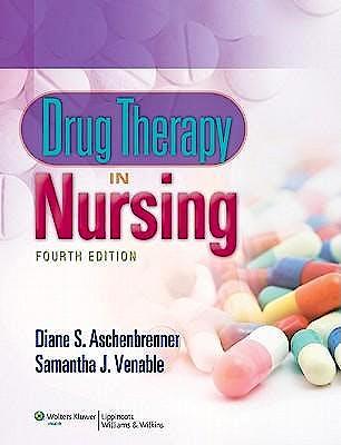 Portada del libro 9781608311514 Drug Therapy in Nursing