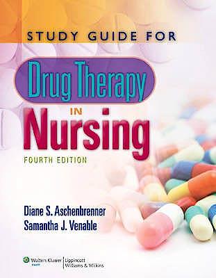 Portada del libro 9781608311521 Study Guide for Drug Therapy in Nursing