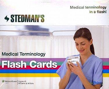 Portada del libro 9781608311781 Stedman's Medical Terminology Flash Cards