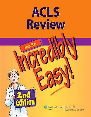 Portada del libro 9781608312887 Acls Review Made Incredibly Easy