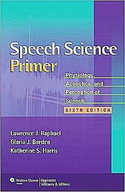 Portada del libro 9781608313570 Speech Science Primer