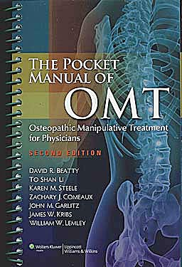 Portada del libro 9781608316571 The Pocket Manual of Omt. Osteopathic Manipulative Treatment for Physicians