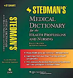 Portada del libro 9781608316922 Stedman's Medical Dictionary for the Health Professions and Nursing (Standard Edition)