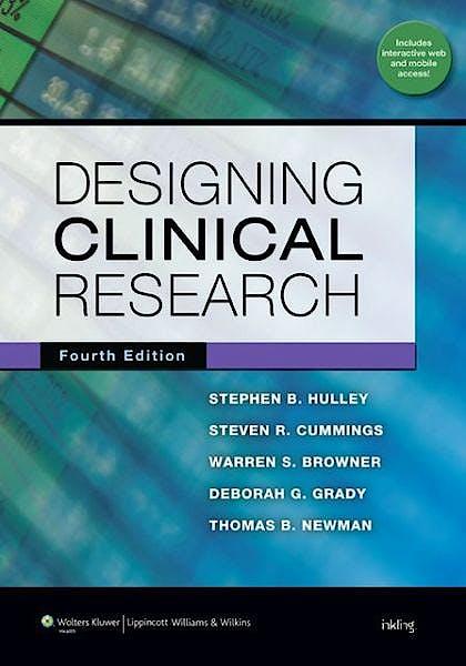 Portada del libro 9781608318049 Designing Clinical Research