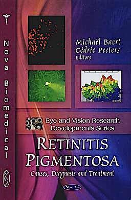 Portada del libro 9781608768844 Retinitis Pigmentosa: Causes, Diagnosis and Treatment