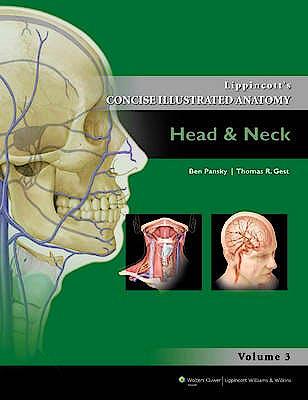 Portada del libro 9781609130275 Lippincott's Concise Illustrated Anatomy, Vol. 3: Head and Neck