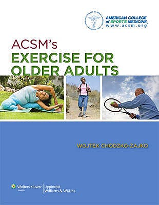Portada del libro 9781609136475 ACSM's Exercise for Older Adults