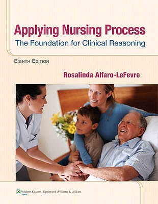 Portada del libro 9781609136970 Applying Nursing Process: The Foundation for Clinical Reasoning