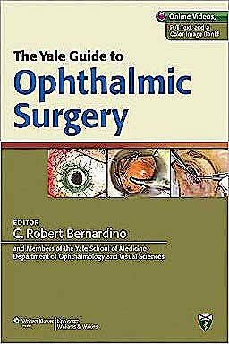 Portada del libro 9781609137052 The Yale Guide to Ophthalmic Surgery