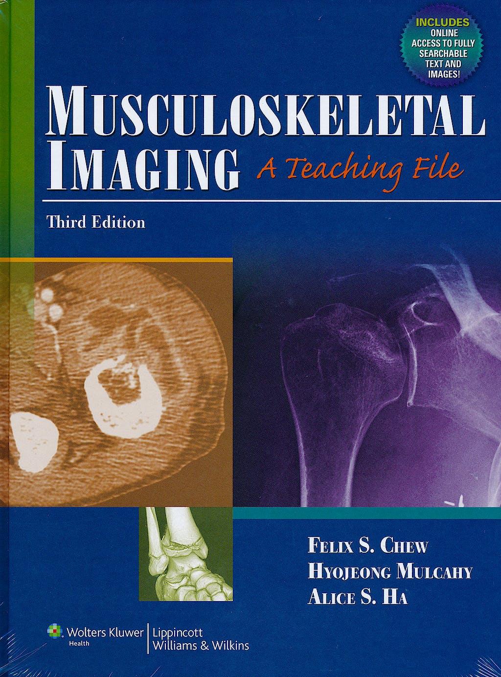 Portada del libro 9781609137939 Musculoeskeletal Imaging, a Teaching Book
