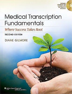 Portada del libro 9781609138660 Medical Transcription Fundamentals